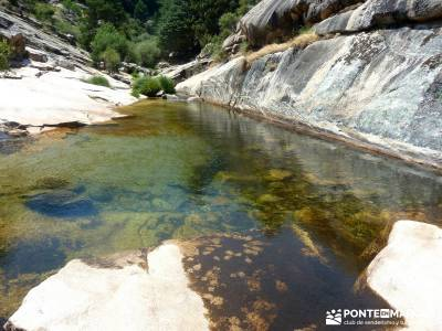 La Pedriza-Río Manzanares Madrid-Charca Verde; rutas por patones federacion de senderismo